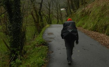 On the trail between Roncesvalles and Zubiri.