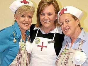 Nurses step back in time