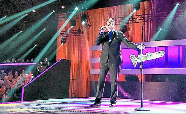 Darren Percival saw all four judges turn during his blind audition on The Voice.