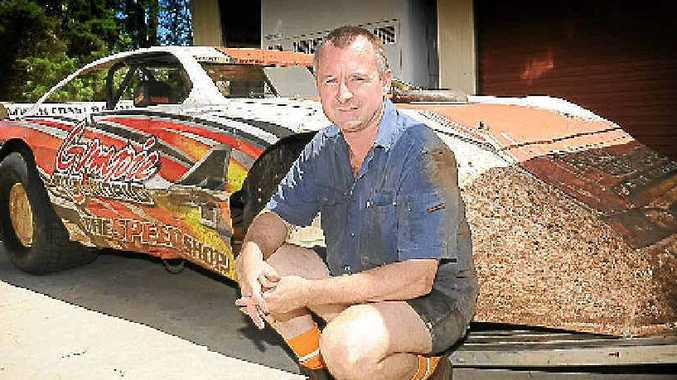 Super sedan driver Mark Pagel will line up to win the Gympie Speedway $3000 Gold Rush event tonight.