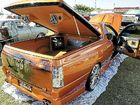 This blown 2001 VU SS ute has exquisite paintwork and loads of features.