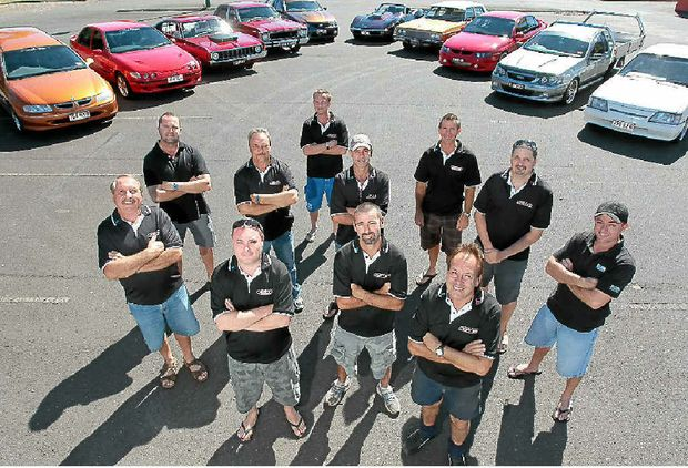Just 8s Car Club members love driving their V8s even if they are gas-guzzlers.