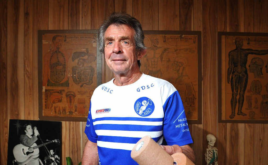 Grafton Ghosts head trainer and strapper Kerry Godwin is surprised how few serious injuries occur in rugby league.