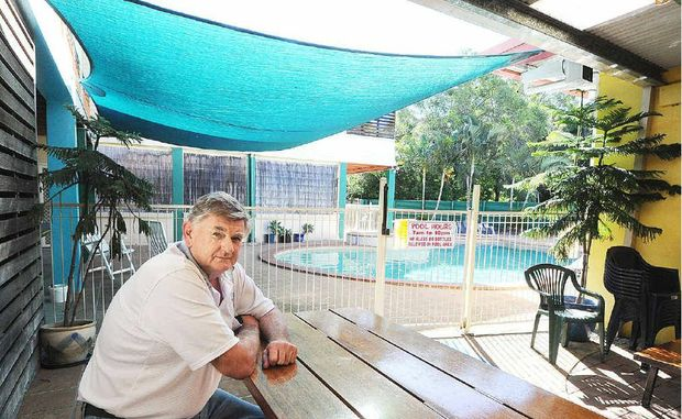 John Hayes from Fraser Roving Backpackers on the Torquay Esplanade is hopeful the backpacker industry will pick up in Hervey Bay.