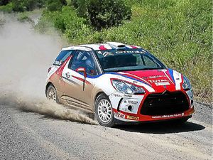 World-class entries in rally