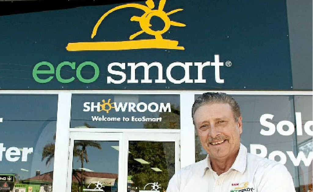 Greg Sproule of Ecosmart Toowoomba believes solar power is the way of the future.