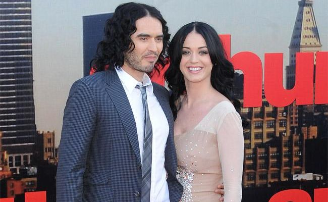 Russell Brand and Katy Perry during happier times.