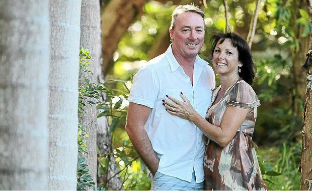Sandra and Bill Olah, of Coolum, have been together for 30 years.