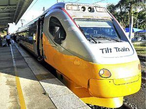 Repairs force Tilt Train off rails