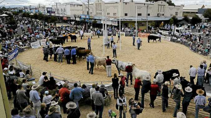 People lined the streets of Casino to walk the Beef Week Festival Street Parade in 2011.
