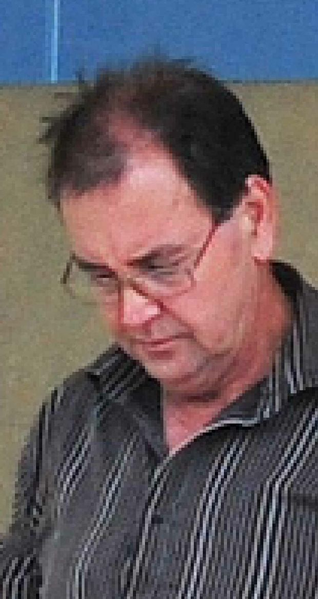 Barnard Joseph August, outside Mackay Courthouse yesterday, was fined $150 for unlawful possession of a weapon but no conviction was recorded.