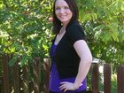 Rockhampton's Alissa Ganter poses confidently in front of the camera after losing 34 kilograms.