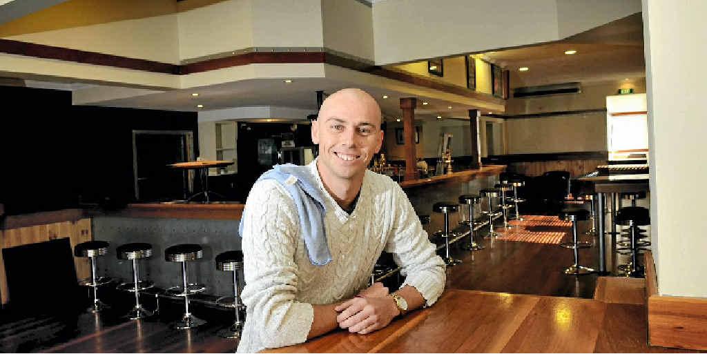 Bellevue Hotel manager Shayne Mogg