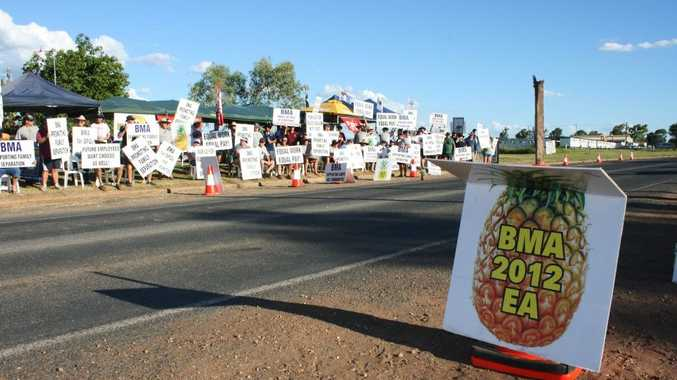 The union already had members' approval to start around-the-clock, seven-day strikes at every BMA coal mine in the Bowen Basin.