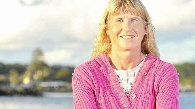 Kerry Saxby-Junna will lead the Ballina to Byron Bay 37km coastal walk.