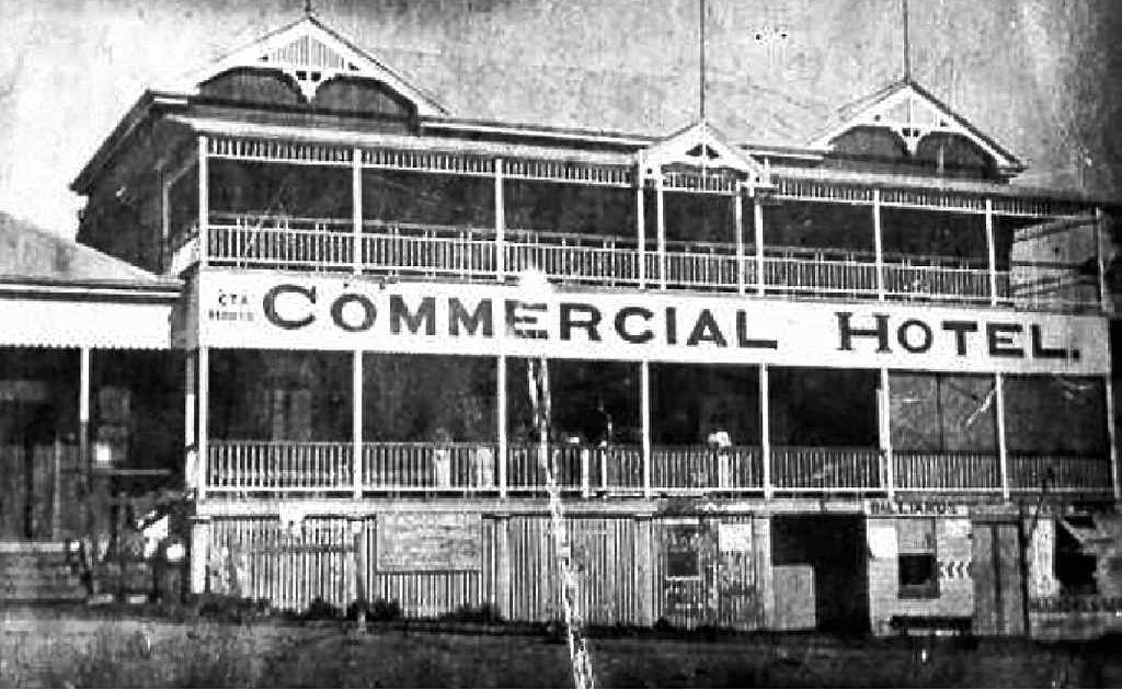 The Commercial Hotel, Eumundi, now Joe's Waterhole.
