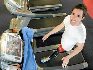 Chris clocks up 72km on treadmill
