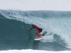 Parko goes down to Wilkinson in round one of Quiksilver Pro