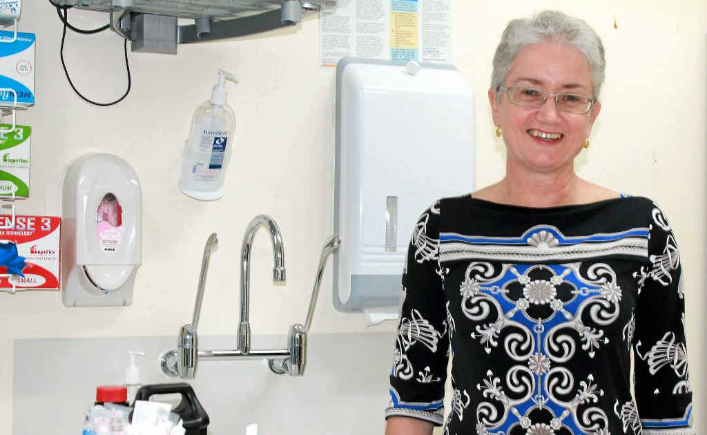 Mackay Base Hospital obstetrician and gynaecologist Dr Kathleen Braniff urges women to have pap smears regularly as up to 90% of the most common form of cervical cancer is preventable if detected early.