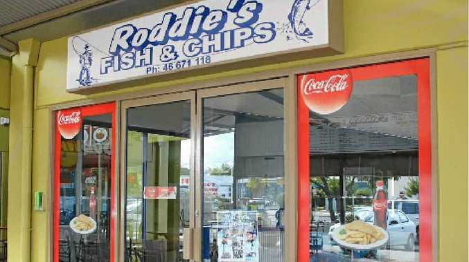 Roddie's Fish and Chips is up for sale.