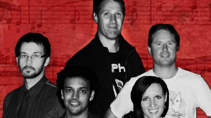 MOSSY ROCKS: Local band Mossy Rocks will be playing at Coraki pub to raise money for Coraki Hockey Club.