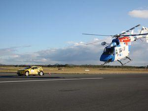 Rally rules in runway race