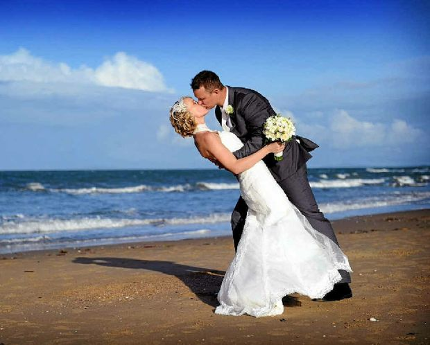 Hollie and Trevor Hall were married on March 17 at Kalori, Tannum Sands. The ceremony was followed by a reception with family and friends.