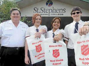 Donations drop-off