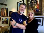 Rex and Jan Hutchison are preparing for their exhibition.