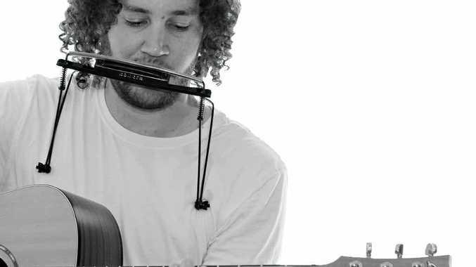 Bundaberg musician Matt Barker.