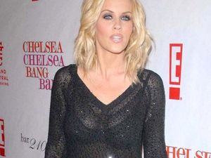 Jenny McCarthy strips for Playboy