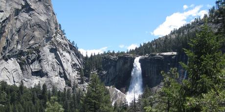 Yosemite National Park's Nevada Fall.