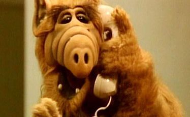 Alf the TV alien puppet found fame in the 1980s.