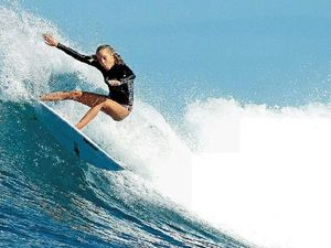 Coolum surfer changes her focus