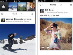 Facebook releases new camera app