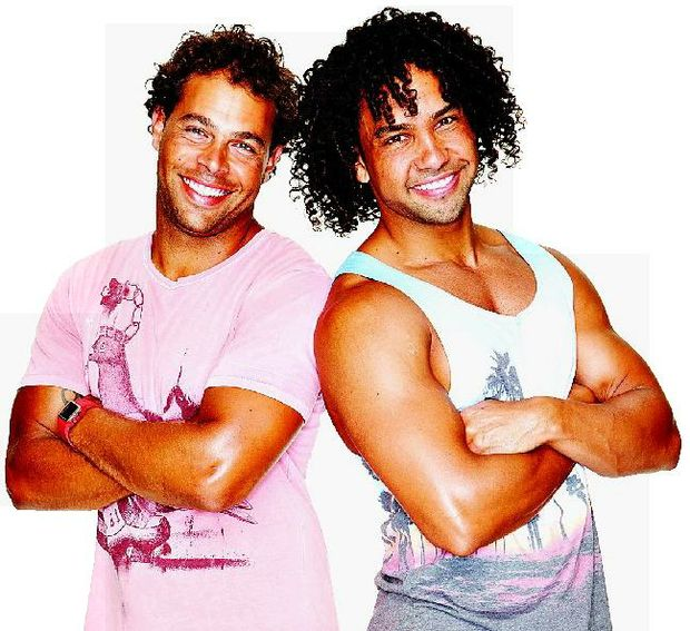 The Amazing Race Australia series 2 contestants Adam and Dane Corowa.