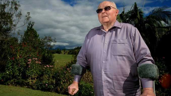 Max Boyd at home in Bethongabel. Photo: John Gass / Daily New
