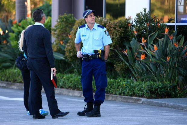 Police are investigating the shooting of a number of buildings on Enterprise Ave, Tweed Heads South.