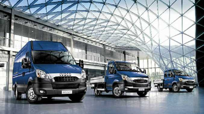 TICKING ALL THE BOXES: The large cubic capacity of Iveco vans are ideal for the movement of equipment for Lots of Watts.