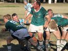 MUDDY BATTLE: The Condamine Cods were just out of reach of the Echidnas in their clash at Gallas Fox Park on Saturday.