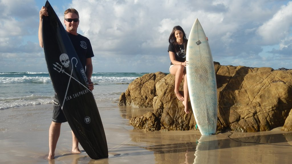 Mark Clough and Nicole McLachlan are looking forward to celebrating whales and dolphins on National Whale Day.