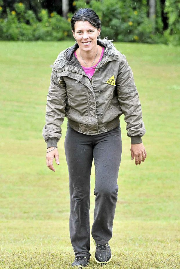 Lesley McQueen of Lynchs Creek is in training for a marathon walk planned for August.