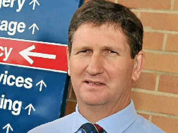 Qld Health Minister Lawrence Springborg.