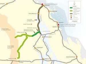 Galilee coal rail race heats up