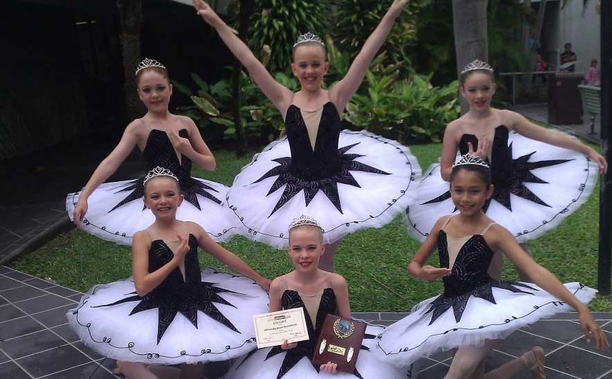 WHITSUNDAY Dance Connection students pranced and spun their way to the top at the Burdekin Junior Eisteddfod last week.