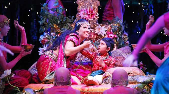 Scene from Baz Luhrmann's stage musical A Midsummer Night's Dream.