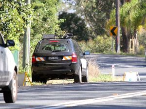 Speed camera victim of angry driver