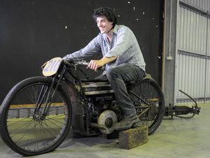 Vintage motorbikes up for auction