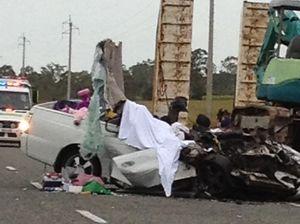 Three die in highway smash at Koumala