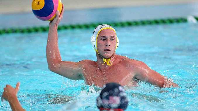Billy Miller, in action against the US, is closing in on a spot in the Australian team for the London Olympics.